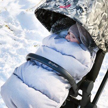 Zimowe spacery są cudowne! ❄️ A w naszym śpiworku to już całkowita bajka ✨  #maylily #śpiworekzimowy #śpiworekdowózka #madeinpoland #spacerek #wózekdziecięcy