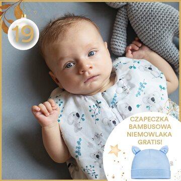 Śpiworki to najbezpieczniejsza opcja do snu maluszka. Dzisiaj Kalendarz Adwentowy przynosi Czapeczkę bambusową gratis do każdego zakupionego śpiworka ✨🤍   #kalendarzadwentowy #maylily #niespodzianka #czapeczka #bambus #śpiworekdospania