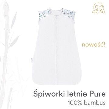 W naszym sklepie nowość - śpiworki bambusowe na lato w wersji Pure - 100% bambusa, ultradelikatne, dedykowane najbardziej wrażliwej skórze 🌱 Wasze maluchy pokochały sen w naszych bambusowych śpiworkach, bardzo się z tego cieszymy, ponieważ spanie w śpiworku jest najbezpieczniejszym i polecanym przez pediatrów na całym świecie rozwiązaniem 🙌 #nowość #śpiworek #śpiworekbambusowy #śpiworeknalato #maylily #bamboo #bambus #madeinpoland #bezpiecznysen #wyprawka