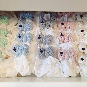 Gdzie śpią koale? W naszych szufladkach 💛 🐨  #słodziaki #handknitted #pieluszkabambusowa #maylily #przytulanka #doudou